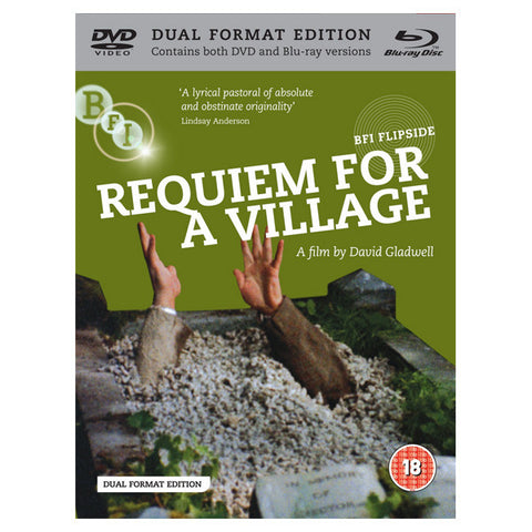 REQUIEM FOR A VILLAGE blu-ray front cover