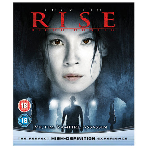 RISE: BLOOD HUNTER blu-ray front cover