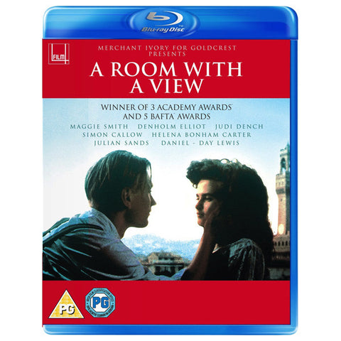 A ROOM WITH A VIEW blu-ray front cover