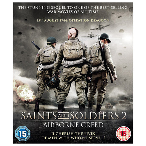 Saints and Soldier 2 blu-ray front cover