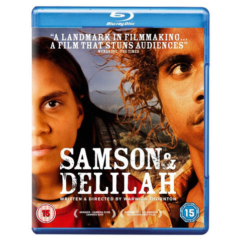 SAMSON AND DELILAH blu-ray front cover
