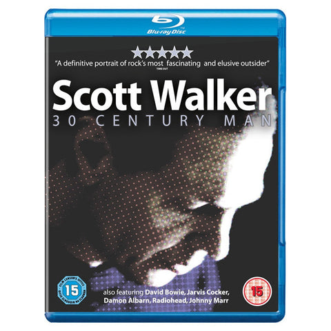 SCOTT WALKER: 30 CENTURY MAN blu-ray front cover