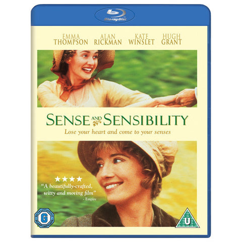 Sense and Sensibility blu-ray front cover