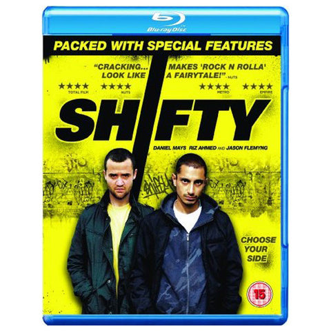SHIFTY blu-ray front cover