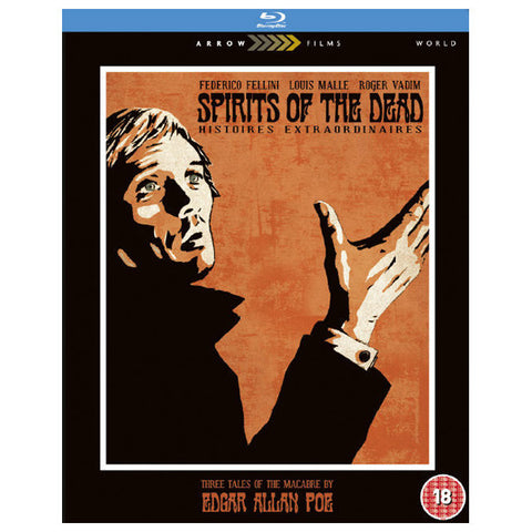 SPIRITS OF THE DEAD blu-ray front cover
