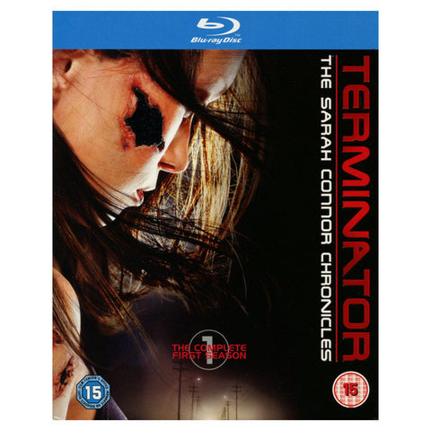 TERMINATOR: THE SARAH CONNOR CHRONICLES FIRST SEASON blu-ray front cover