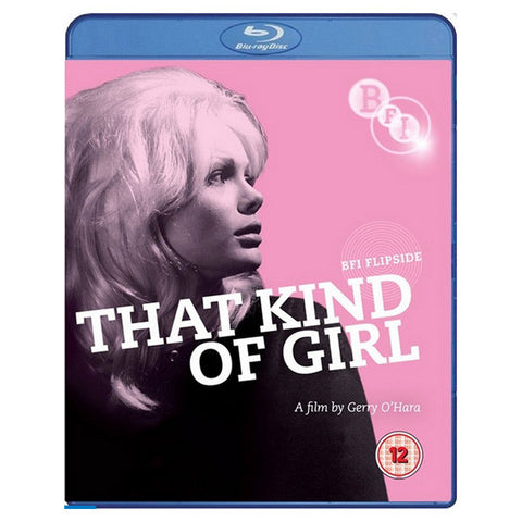 THAT KIND OF GIRL blu-ray front cover