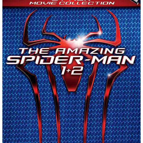 the amazing spider-man 1 2 blu-ray