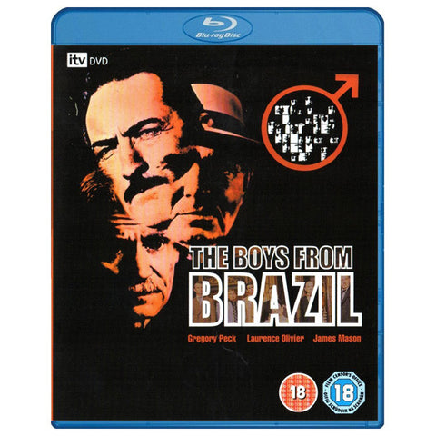 THE BOYS FROM BRAZIL blu-ray front cover