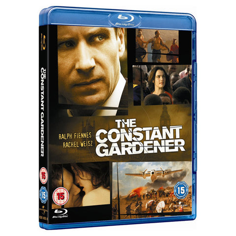 THE CONSTANT GARDENER blu-ray front cover