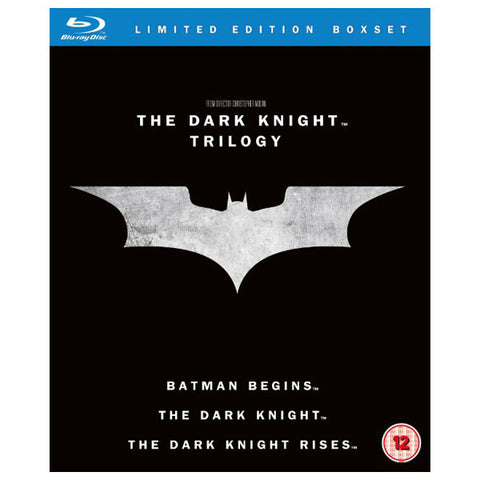 the dark knight trilogy front cover