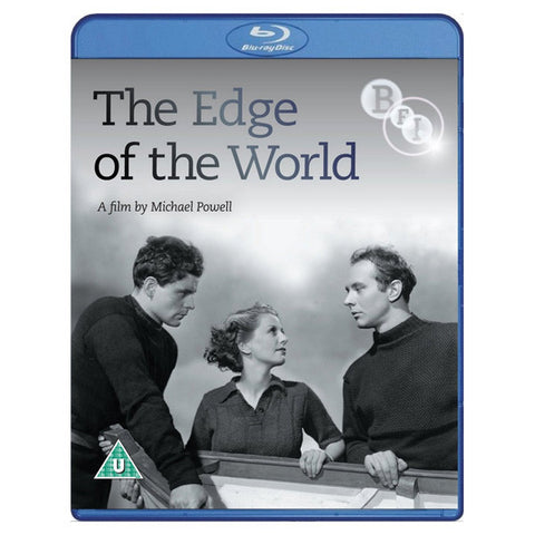 THE EDGE OF THE WORLD blu-ray front cover