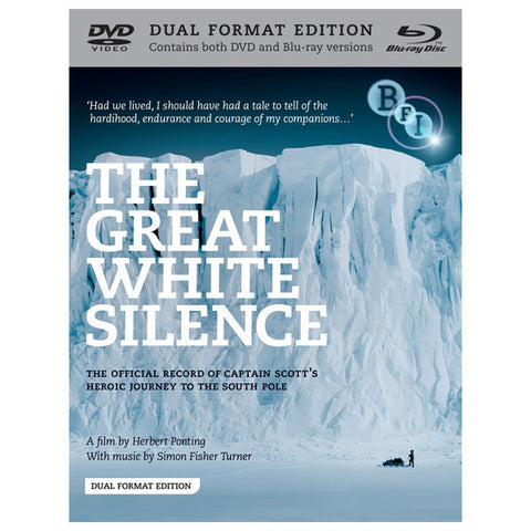 THE GREATH WHITE SILENCE blu-ray front cover