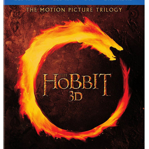 THEHOBBIT3DMOTIONPICTURETRILOGY blu ray front cover