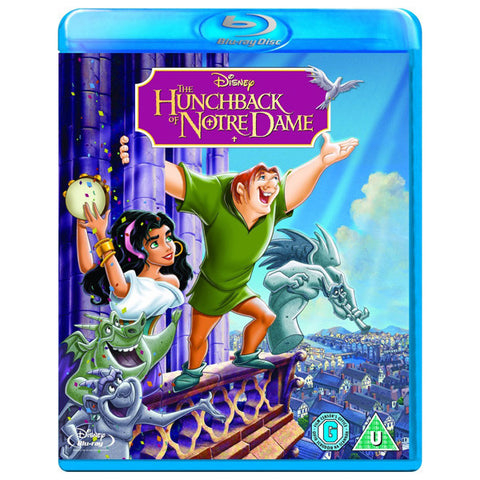 The Hunchback of Notre Dame blu-ray front cover