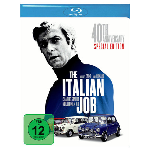 THE ITALIAN JOB blu-ray front cover