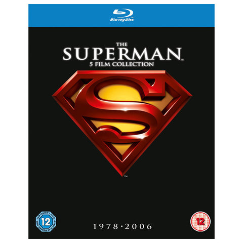 the superman 5 film collection 1978-2006 front cover