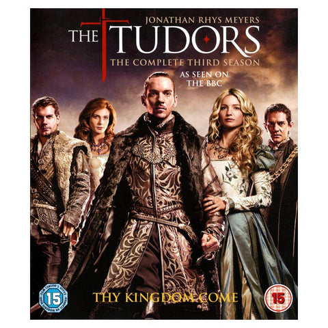 THE TUDORS: THE COMPLETE THIRD SEASON blu-ray front cover