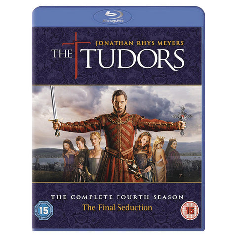 THE TUDOR: THE COMPLETE FOURTH SEASON blu-ray front cover