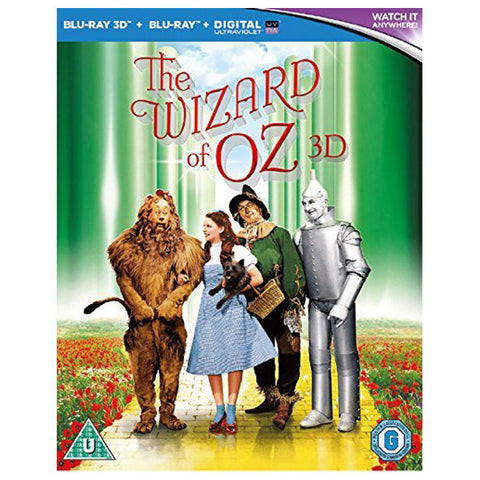 the wizard of oz 3D front cover
