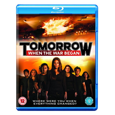 TOMORROW, WHEN THE WAR BEGAN blu-ray front cover