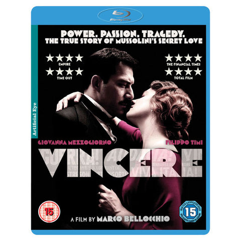 VINCERE blu-ray front cover