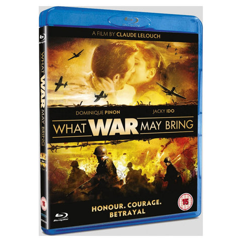 WHAT WAR MAY BRING blu-ray front cover