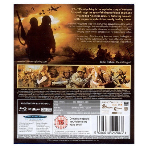WHAT WAR MAY BRING blu-ray back cover