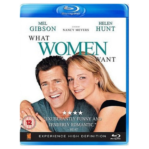 WHAT WOMEN WANT blu-ray front cover