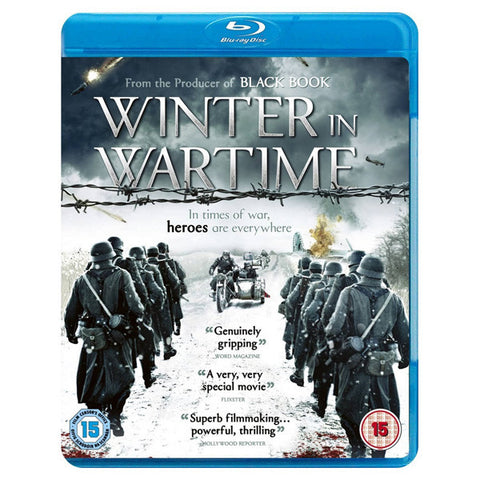 WINTER IN WARTIME blu-ray front cover