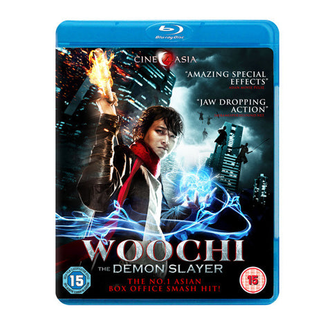 WOOCHI: THE DEMON SLAYER blu-ray front cover