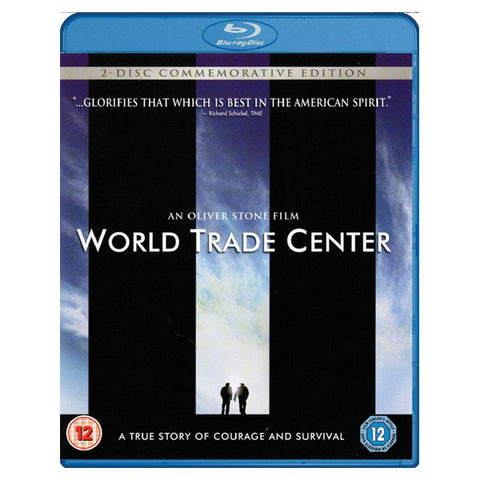WORLD TRADE CENTER blu-ray front cover