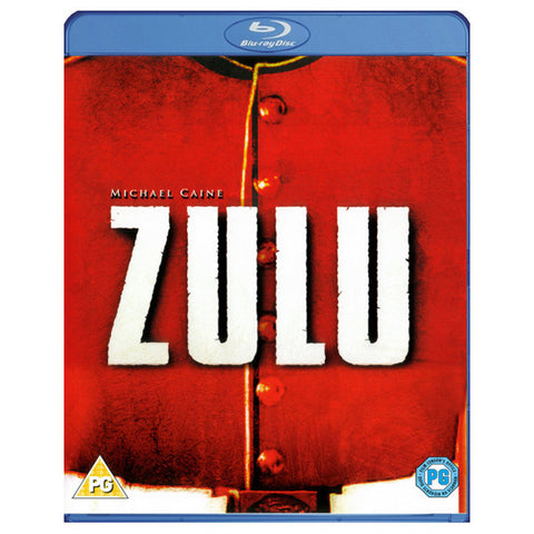 ZULU blu-ray front cover
