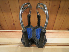 "SOLD - Herm Sprenger Bow Balance 4.75"" Stirrup Irons -$170"