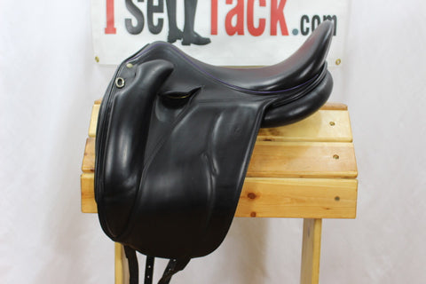 "AVAIL - 2015 Devoucoux Mendia Dressage 18.5"" 3 Flaps 4.5"" Tree"