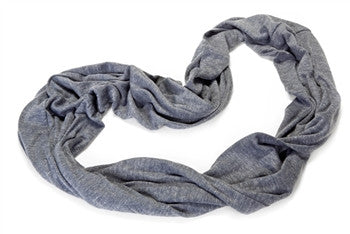 Draper Body Therapy Blue Infinity Scarf