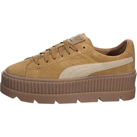 new product eeb2f 840ad PUMA x Fenty Cleated Creeper Suede-Brown