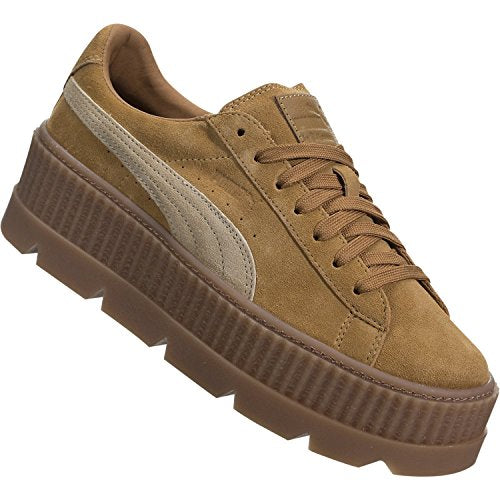 new product 64cbf 0af71 PUMA x Fenty Cleated Creeper Suede-Brown