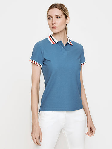 Phoenix Short Sleeve Performance Pique Polo- Teal