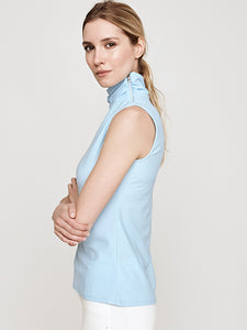 Maisy Sleeveless Turtleneck Performance Top