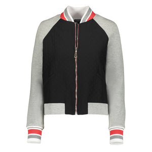 Leaderboard Jacket- Grey/Black