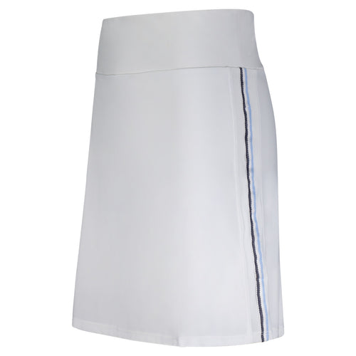 Zada Performance Skort- Standard Length- White