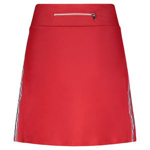 Zada Performance Skort- Standard Length- Poppy