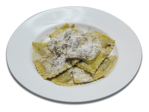 Ravioli – Chicken with Mushroom Sauce