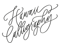 Hawaii Calligraphy