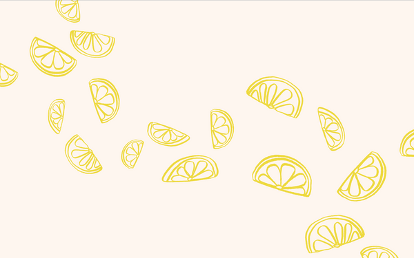 LEMON WALLPAPER-DIGITAL DOWNLOAD