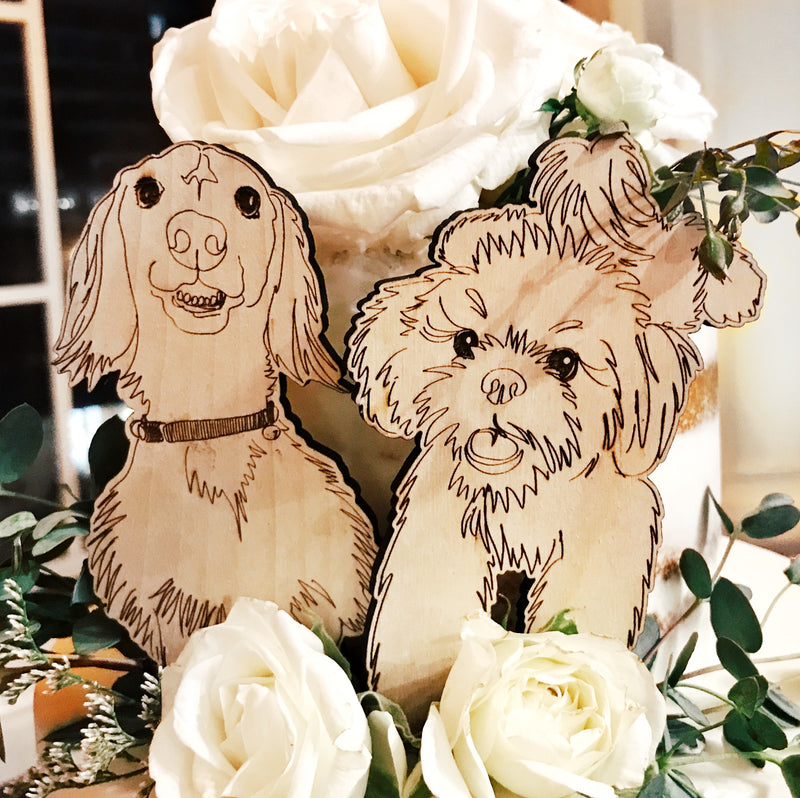 CUSTOM PET CAKE TOPPER