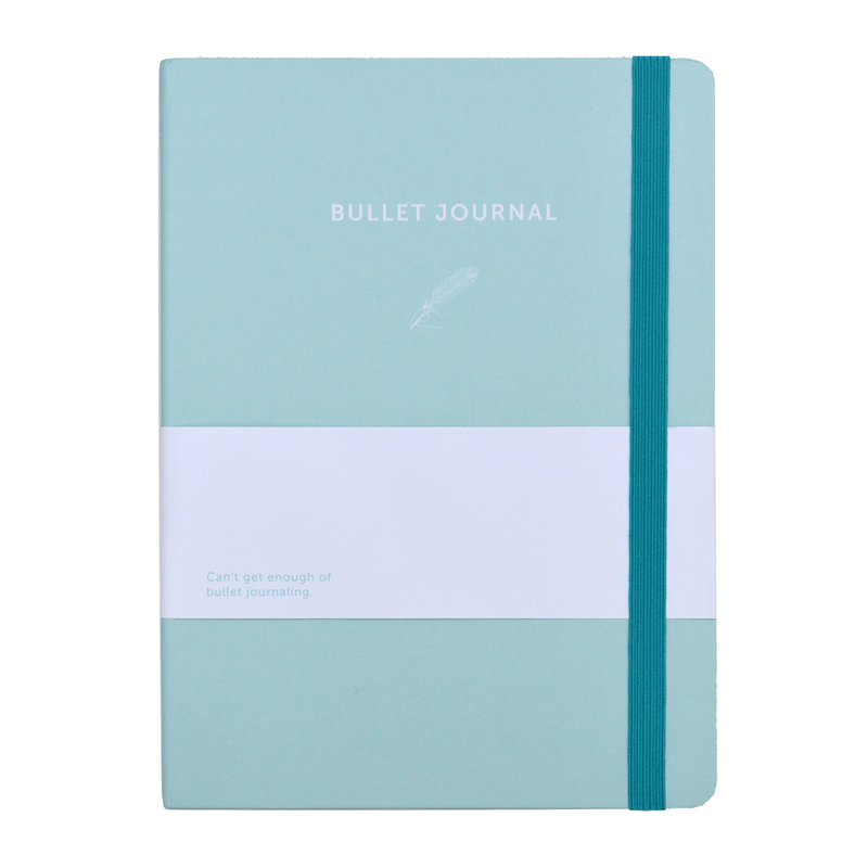 Bullet Journal Azul celeste de A-Journal Papeleria bonita