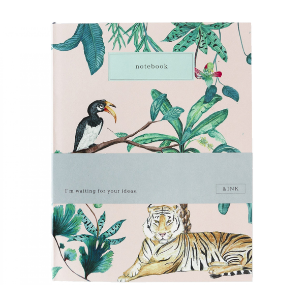 Notebook &Ink Jungle papeleria bonita
