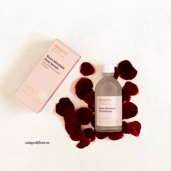 Rose Absolute First Serum de Aromatica - serum para pieles sensibles